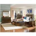 Standard Furniture Cameron King Storage Bed, Dresser, Mirror & Nightsta - Item Number: STAND-GRP-851XX-KINGSUITE