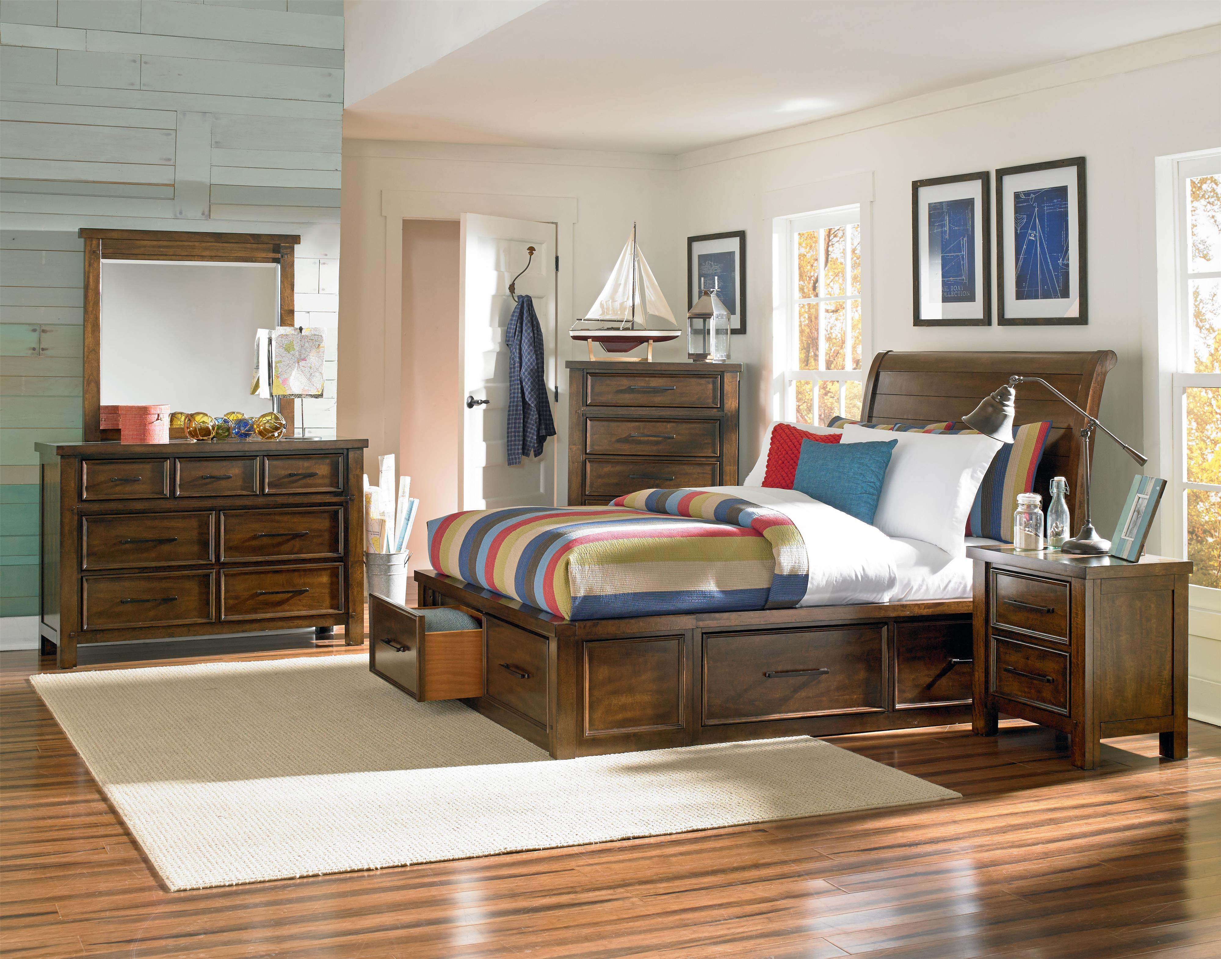 Standard Furniture Cameron Youth Full Bedroom Group - Item Number: 940 F Bedroom Group 1