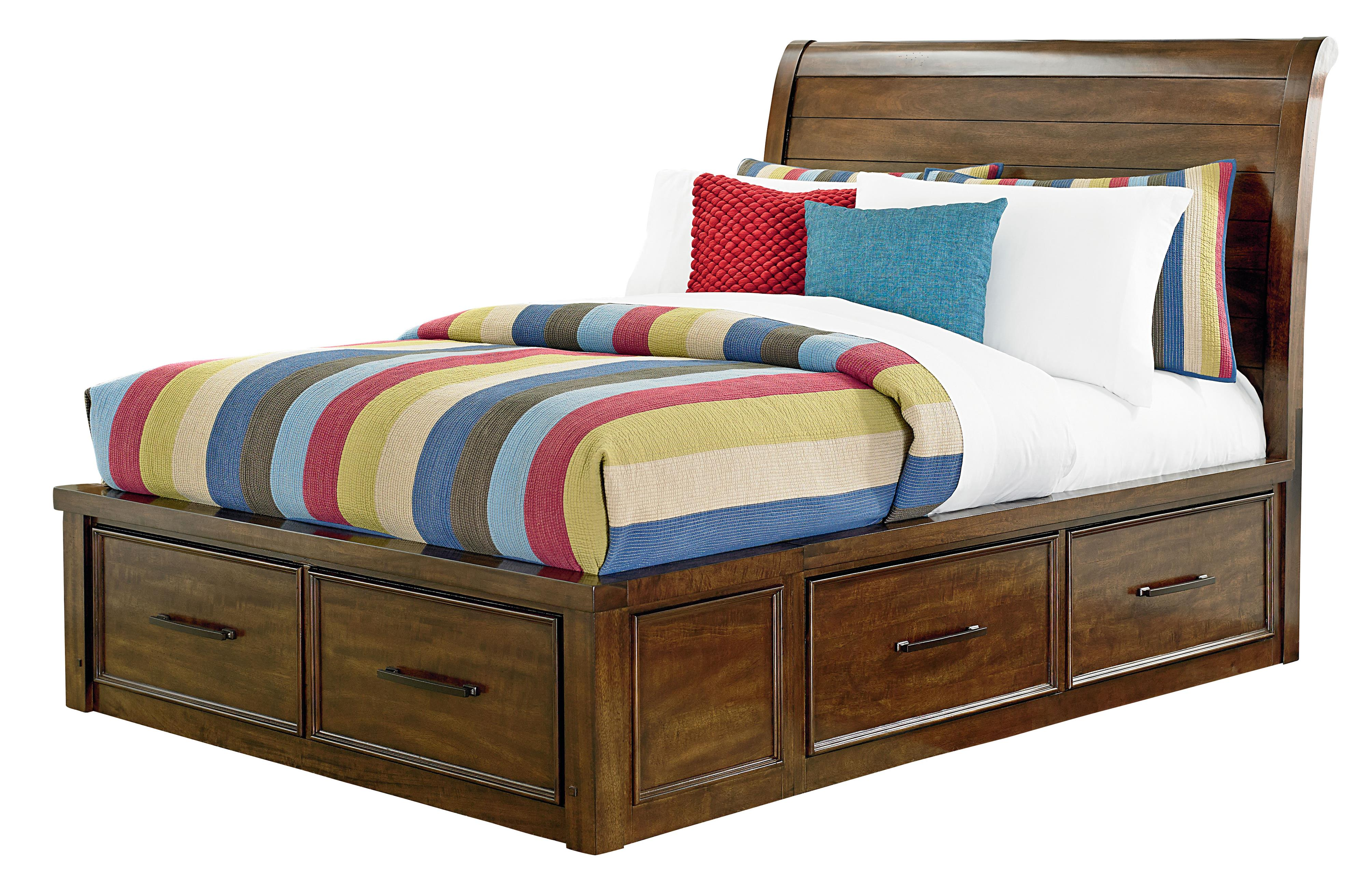 Standard Furniture Cameron Youth Twin Sleigh Bed - Item Number: 94051+52+53