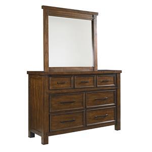 Vendor 855 Portland Youth Dresser and Mirror Set
