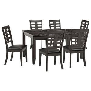 7-Piece Dining Table & Chair Set
