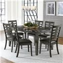 Standard Furniture Canaan 7-Piece Dining Table & Chair Set - Item Number: 10272