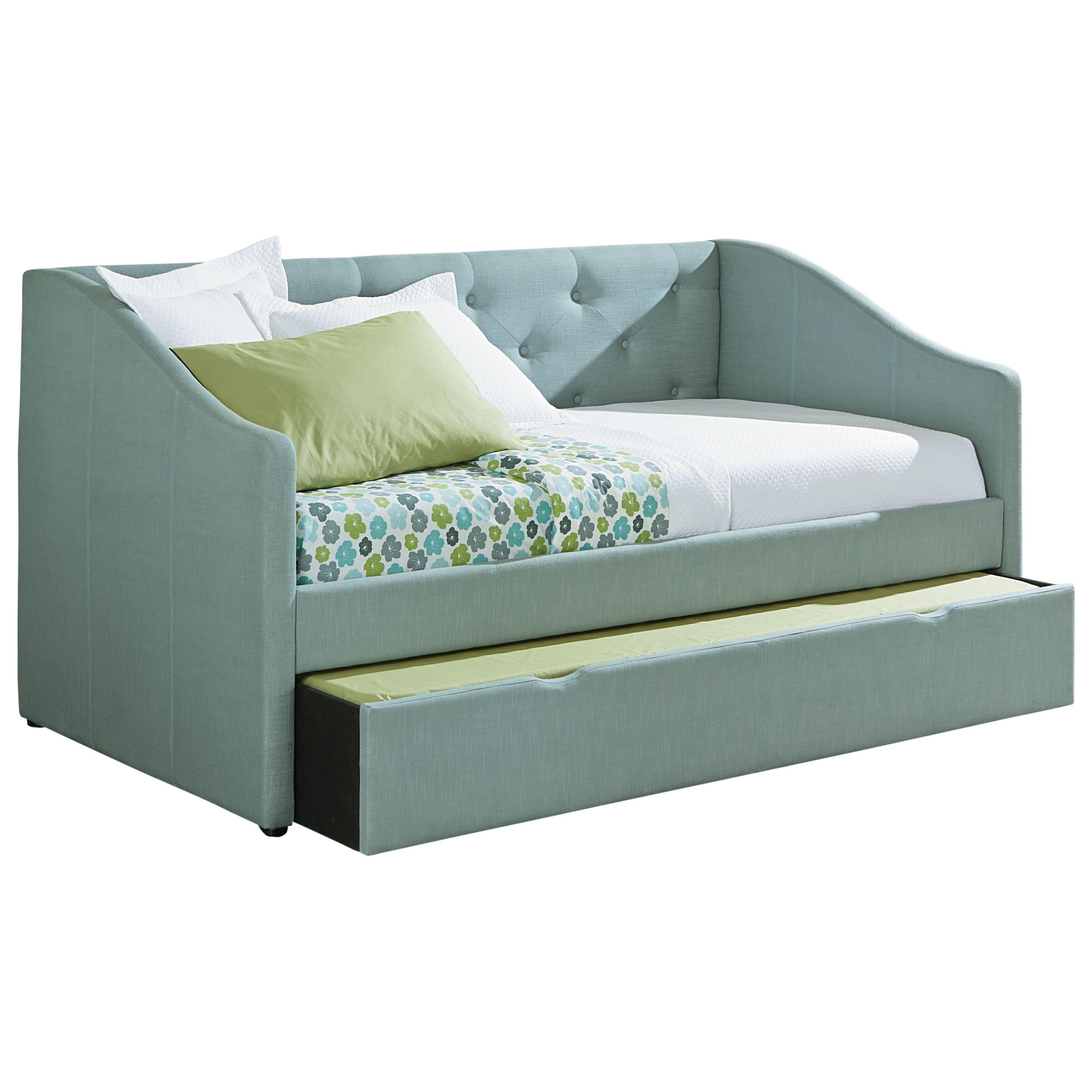 Standard Furniture Carmen Blue Daybed - Item Number: 98651+98652