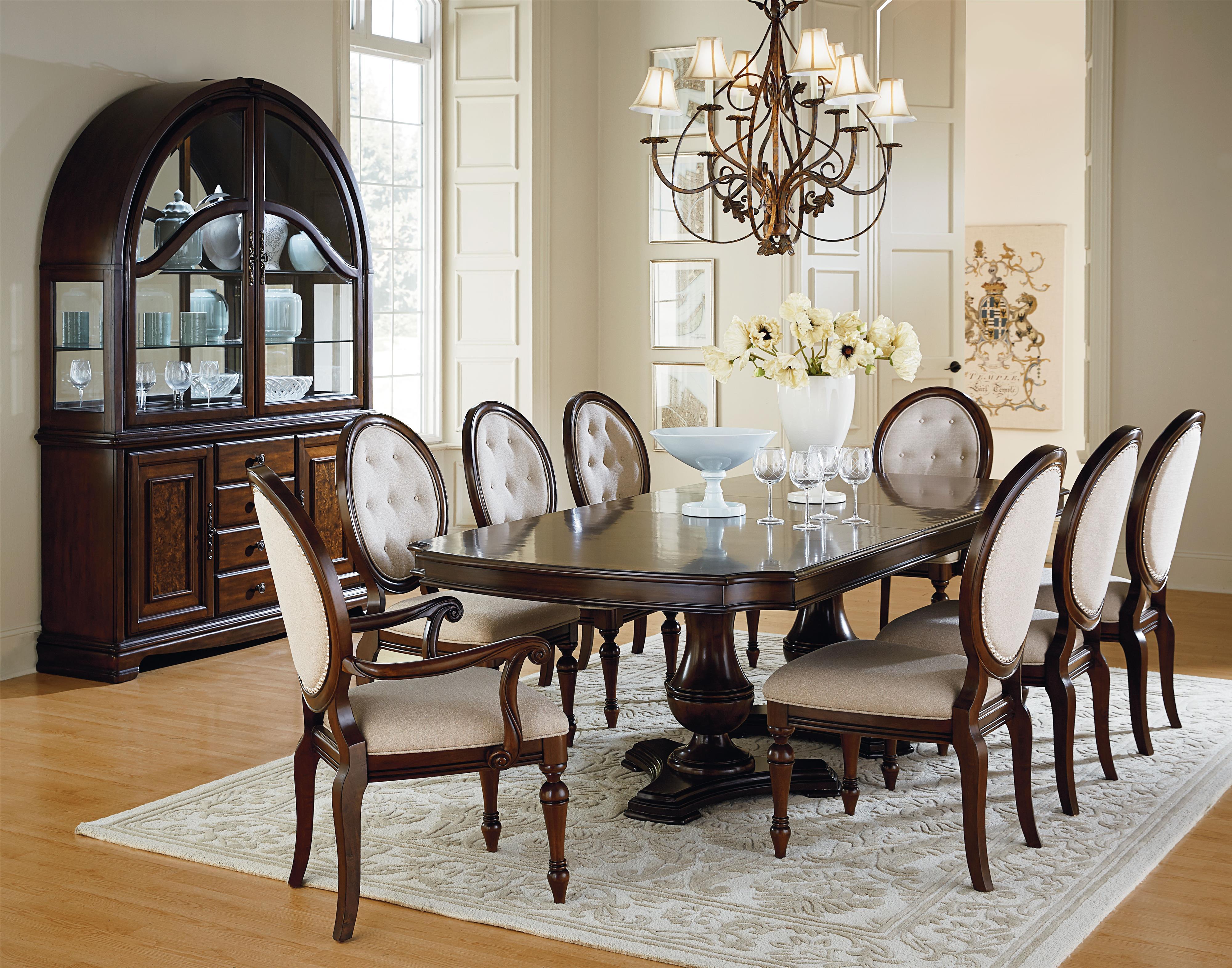 Standard Furniture Carrington Dining Dining Room Group - Item Number: 17020 Formal Dining Room Group 1