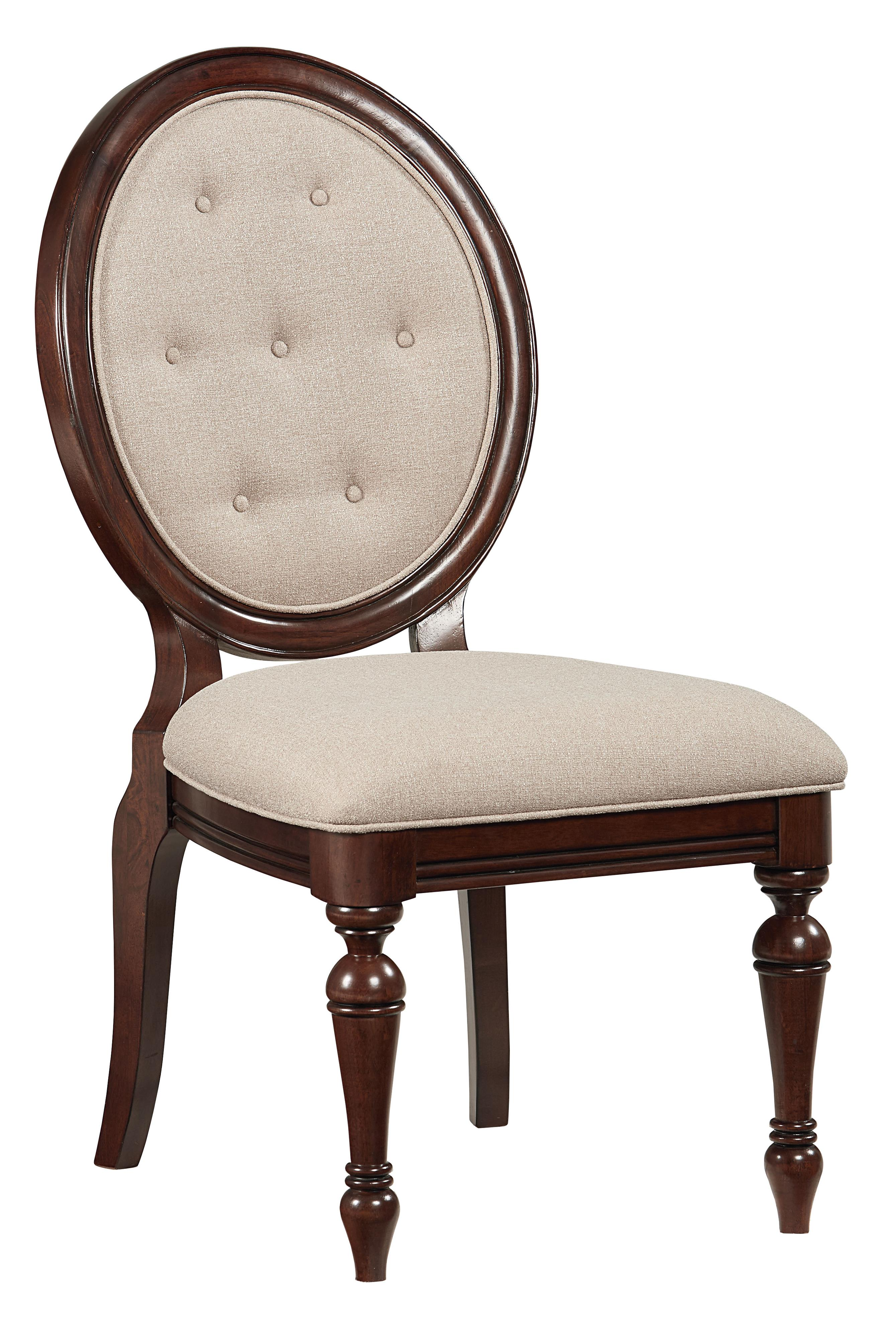 Standard Furniture Carrington Dining Side Chair             - Item Number: 17024