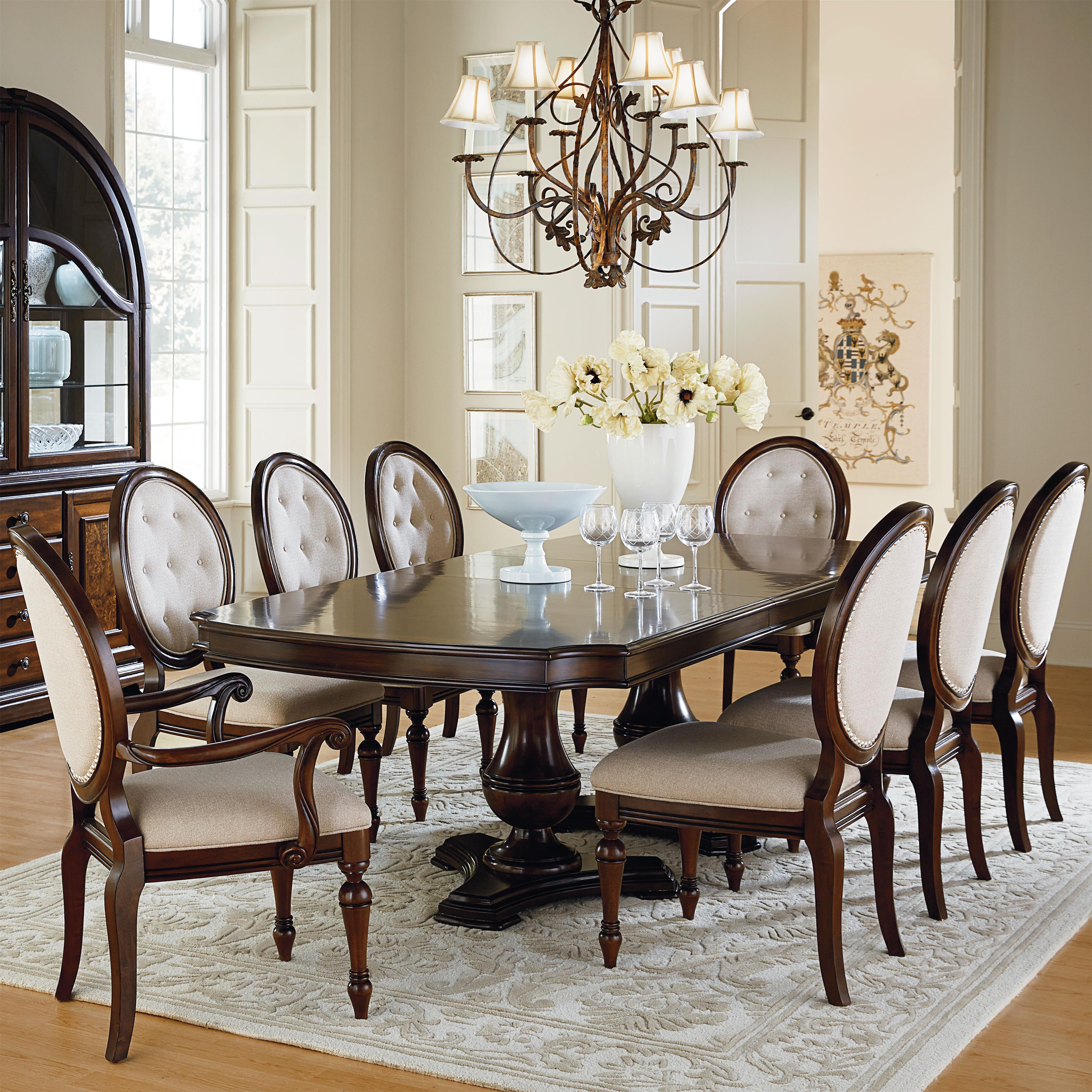 Standard Furniture Carrington Dining Dining Room Set - Item Number: 17026+2017026+6x17024+2x25