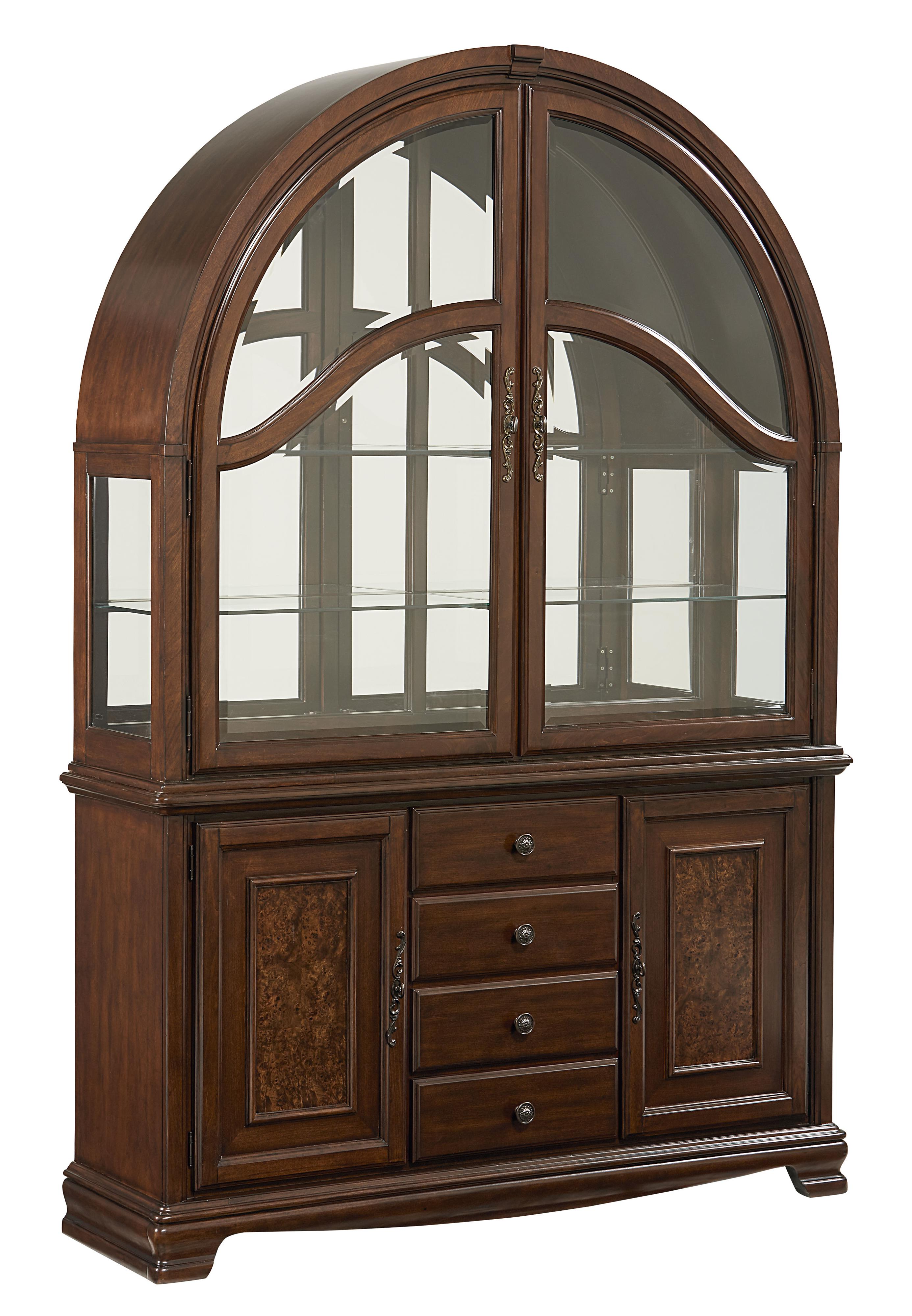 Standard Furniture Carrington Dining Buffet and Hutch - Item Number: 17028+29