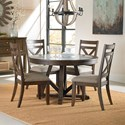 Standard Furniture Carter Table and Chair Set - Item Number: 10881+4x10884