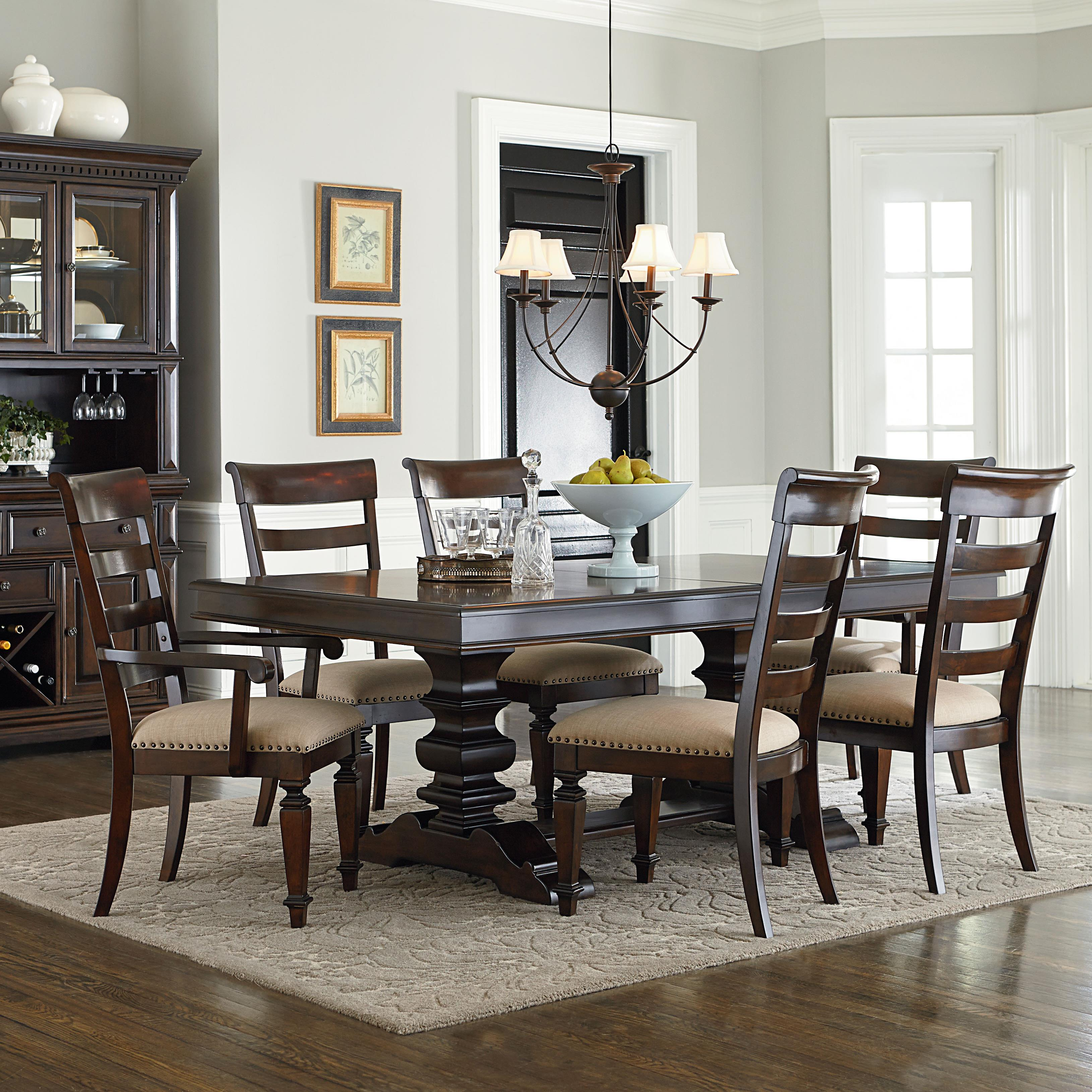 Chicago Traditional Formal Dining Room Furniture Stores: Standard Furniture Charleston Traditional Seven Piece