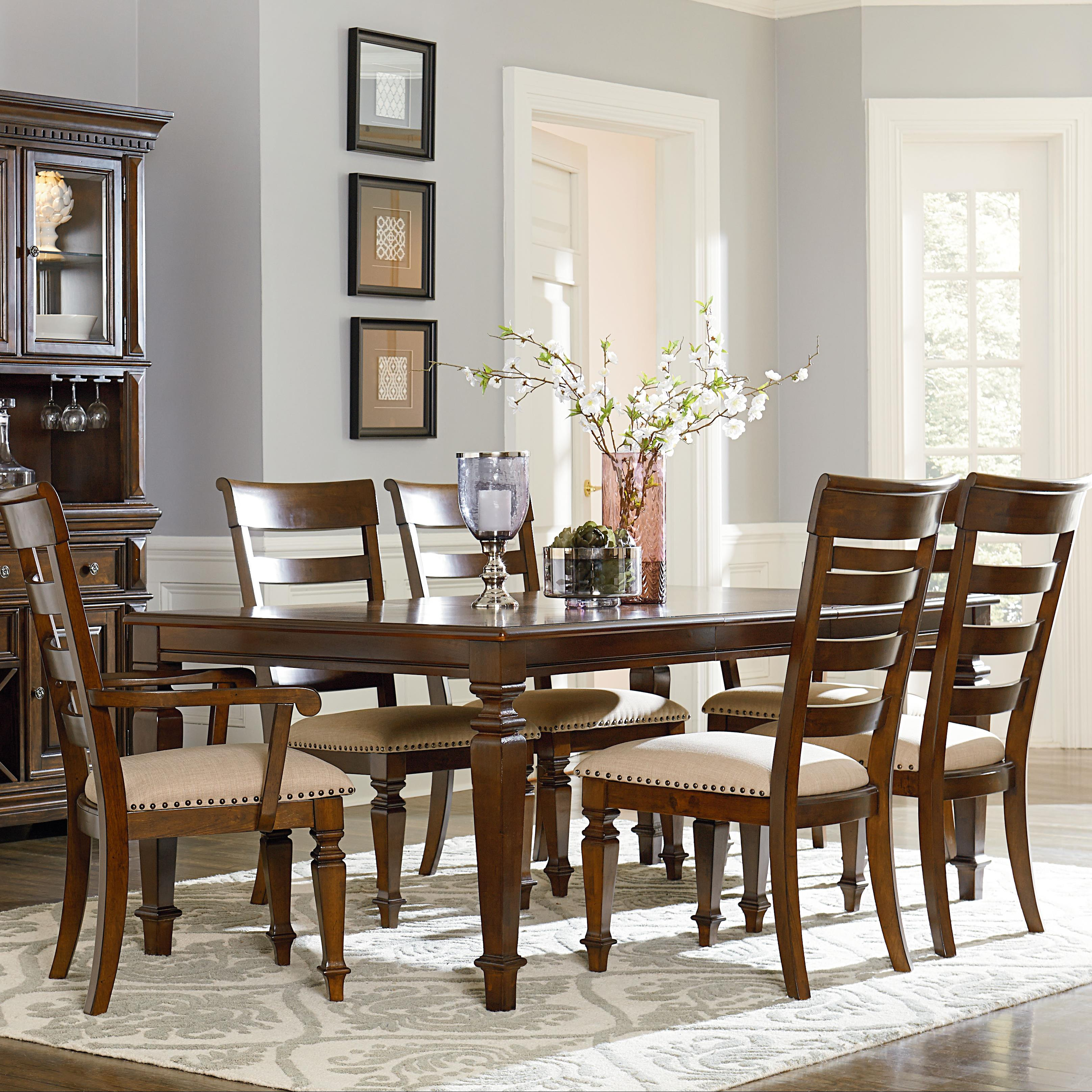 Standard Dining Room Table Size: Standard Furniture Charleston Dining Table With Legs And