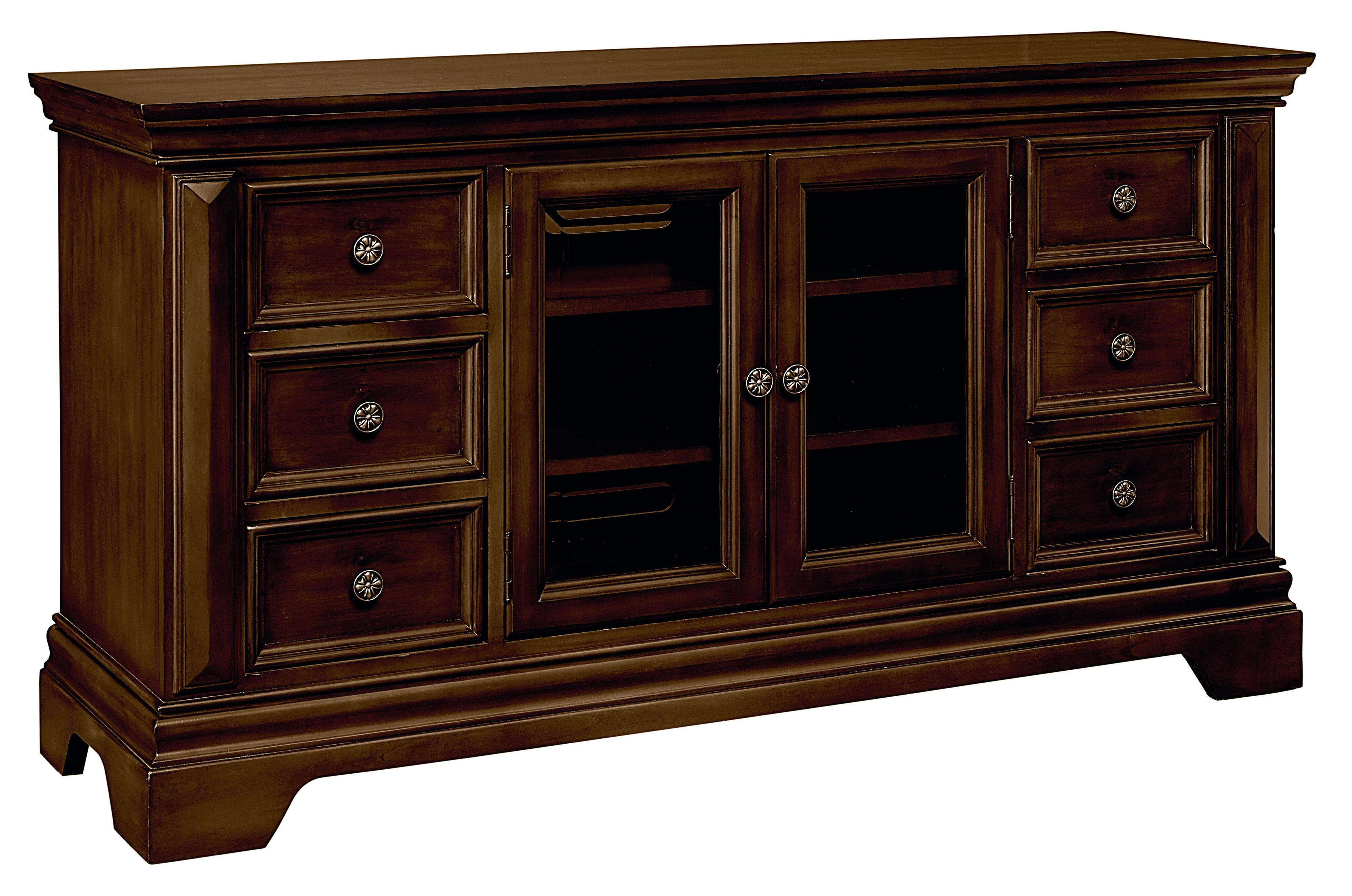 "Standard Furniture Charleston 60"" Entertainment Console - Item Number: 28938"