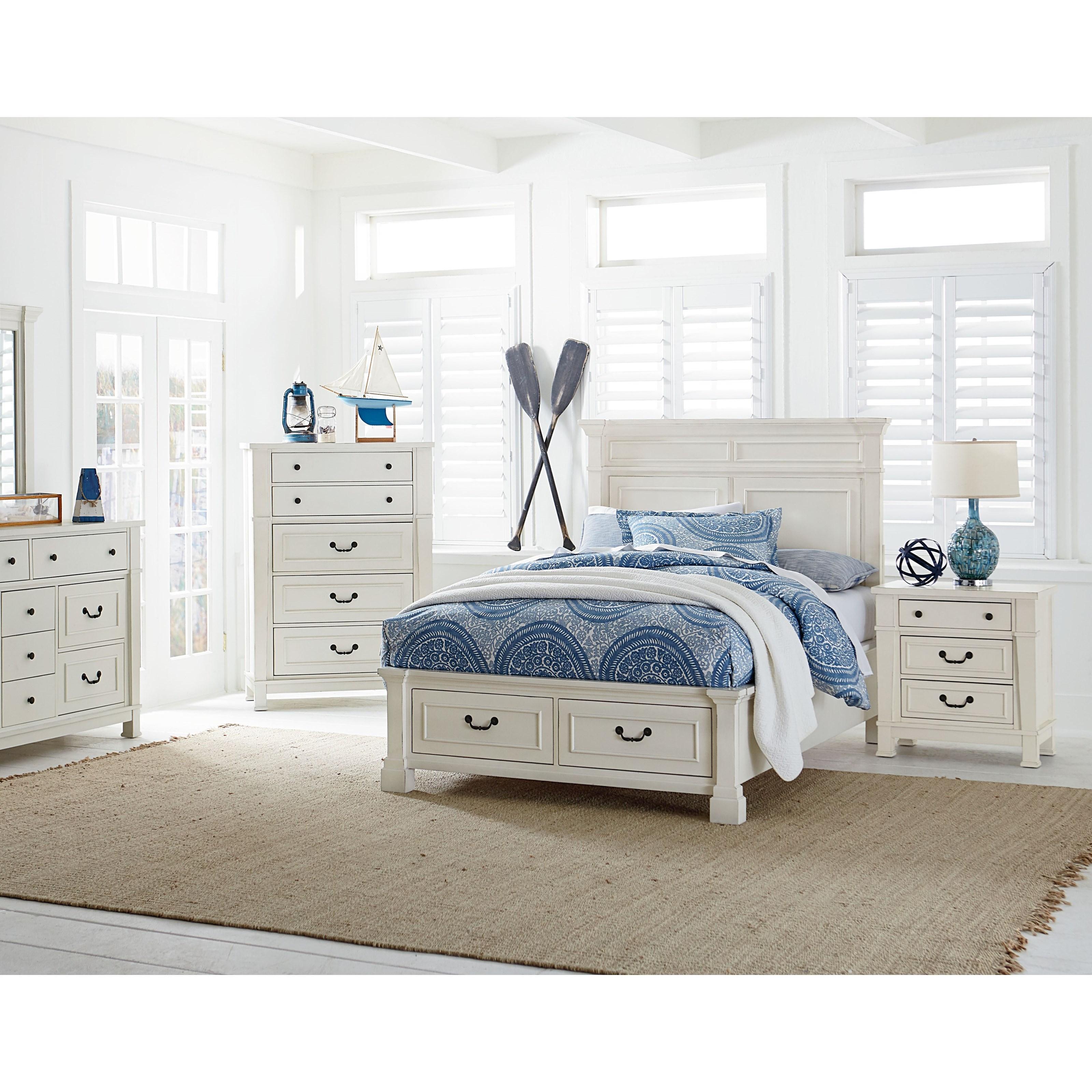 Standard Furniture Chesapeake Bay Queen Storage Bedroom