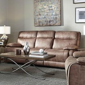 Sofa,Manual Recl W/Table P-Str