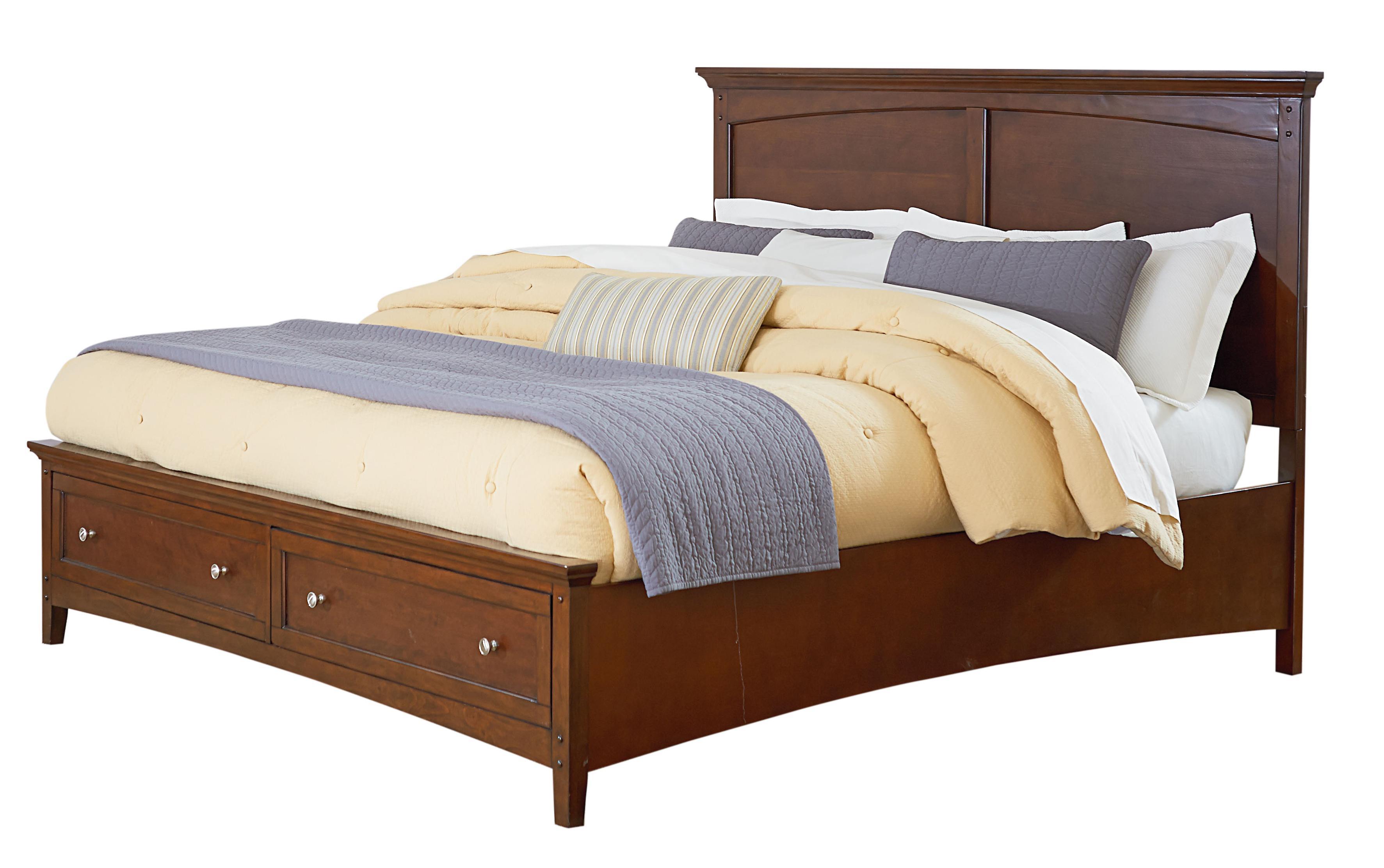 Standard Furniture Cooperstown Queen Storage Bed - Item Number: 93801+03+02