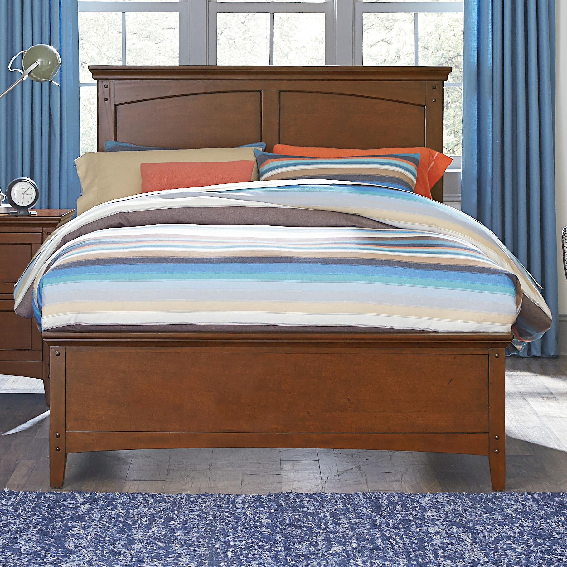 Standard Furniture Cooperstown Twin Panel Bed - Item Number: 93841+46+48