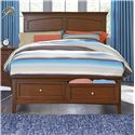 Standard Furniture Cooperstown Casual Full Bed with Storage Footboard