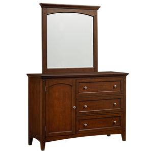 Standard Furniture Cooperstown Youth Dresser and Mirror