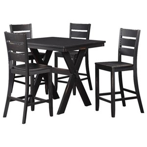 Standard Furniture Costa Counter Table and Stool Set