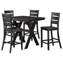 Standard Furniture Costa Counter Table and Stool Set - Item Number: 11672