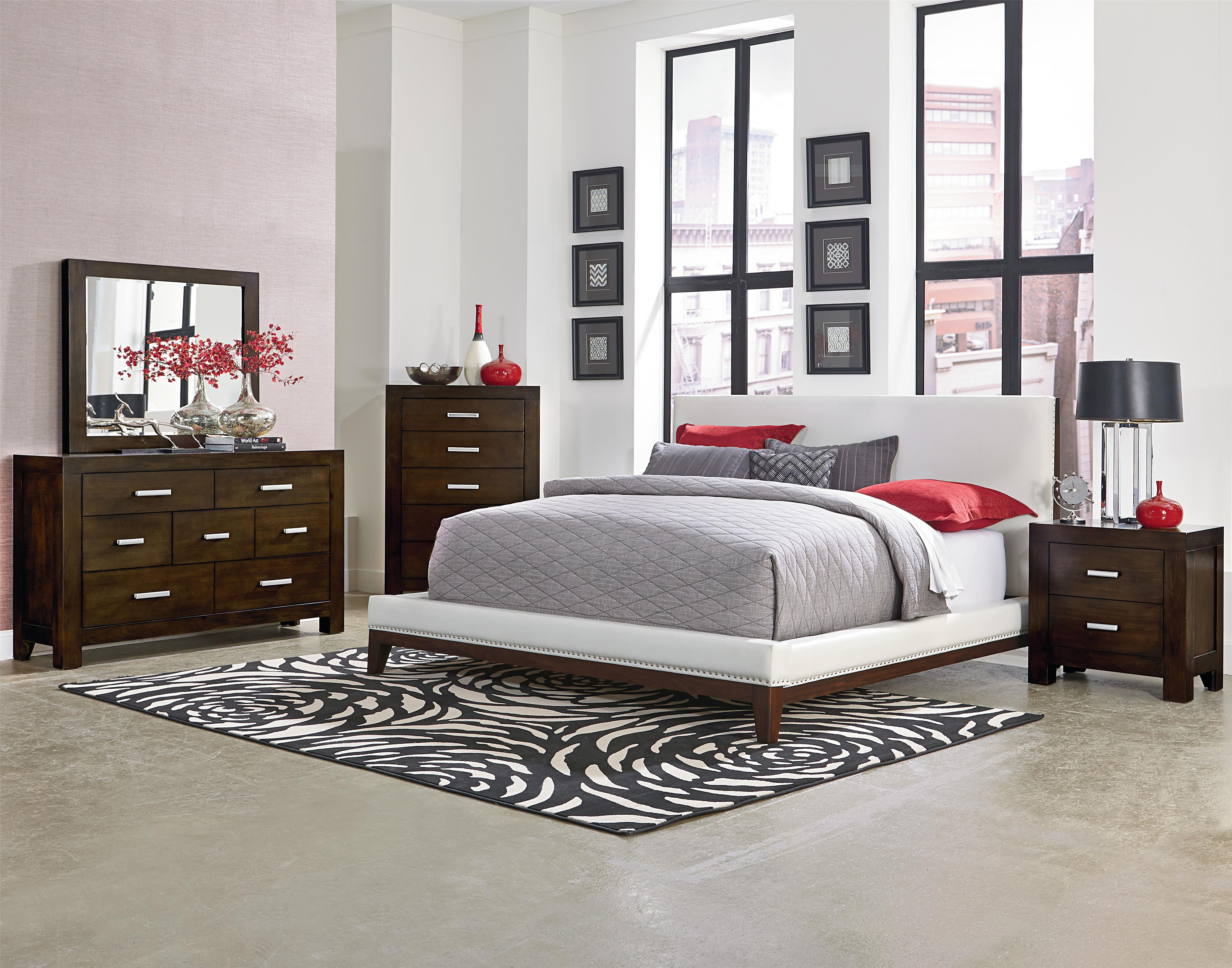 Standard Furniture Couture Queen Bedroom Group - Item Number: 81550 Q Bedroom Group 1
