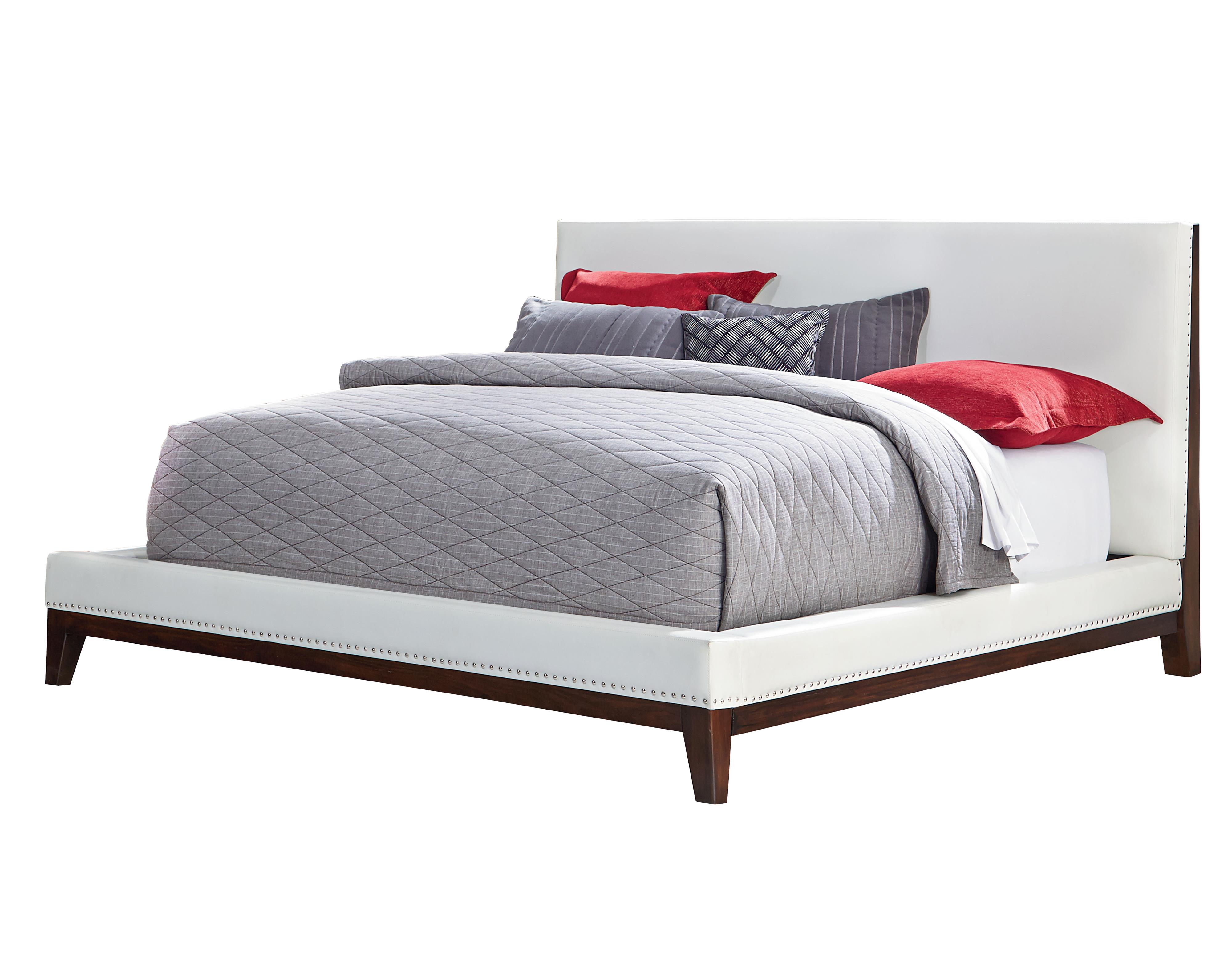 Standard Furniture Couture King Upholstered Bed - Item Number: 81552+54+56