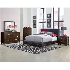 Standard Furniture Couture Black King Bedroom Group