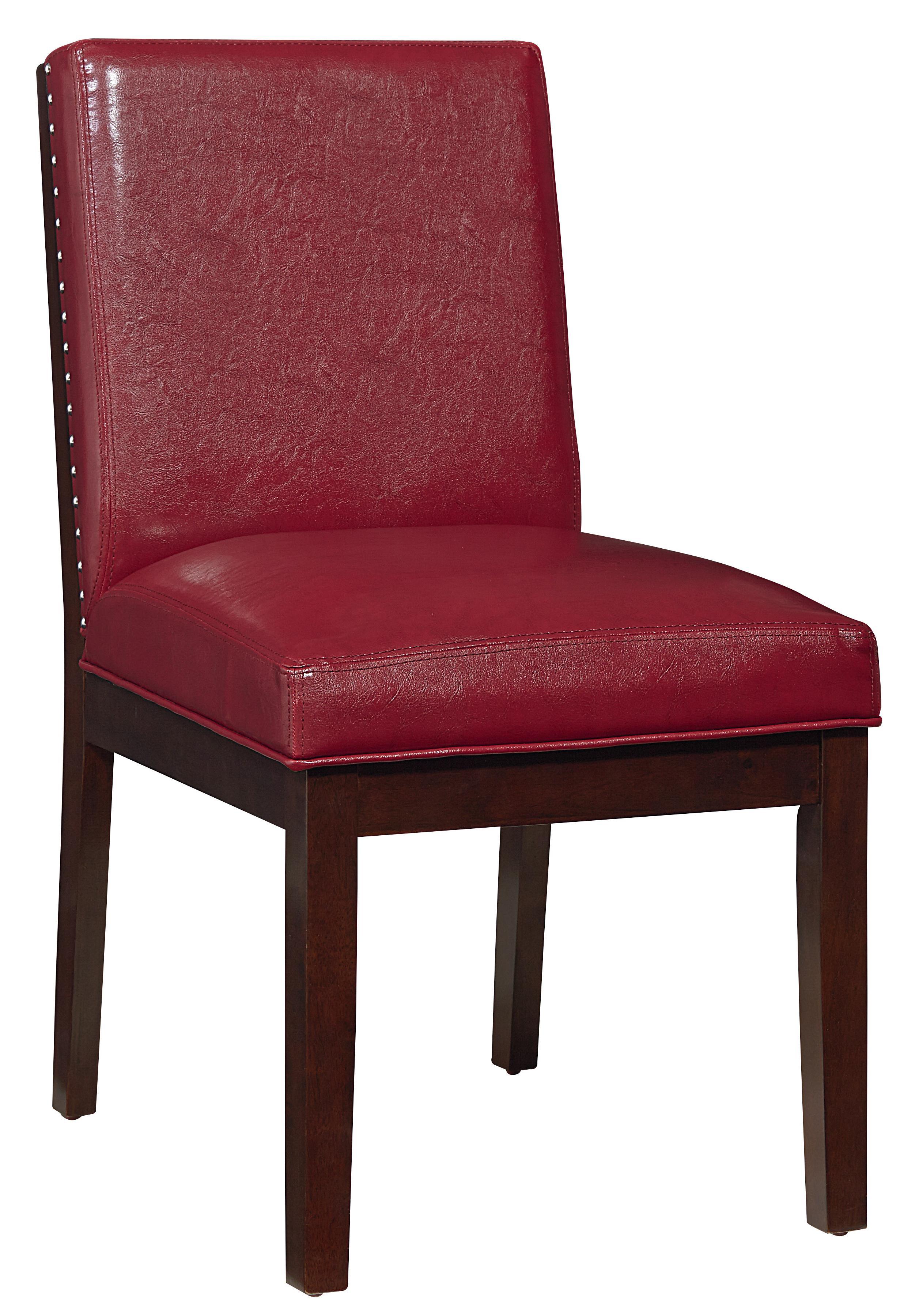 Standard Furniture Couture Elegance Upholstered Side Chair - Item Number: 10569