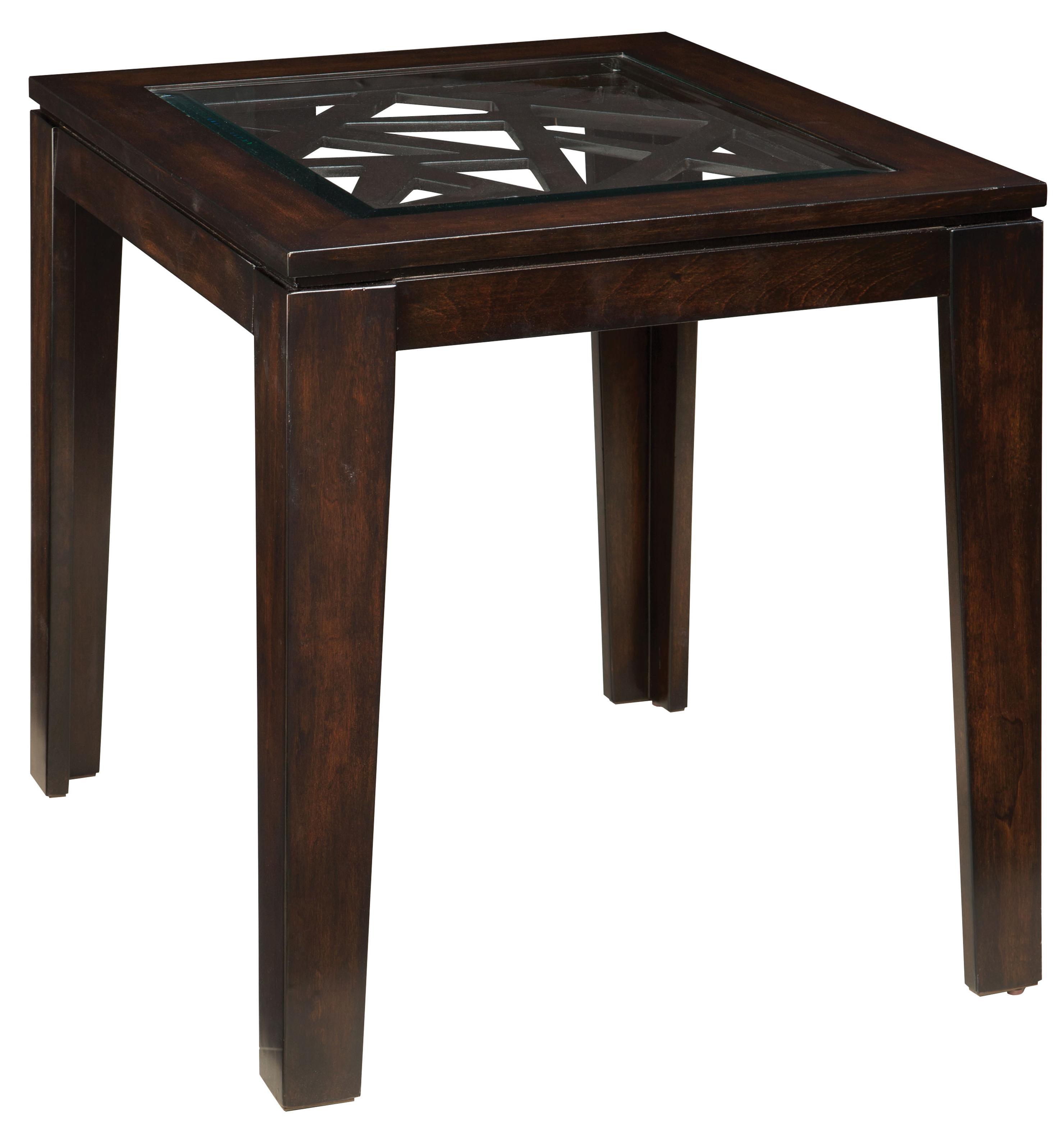 Standard Furniture Crackle End Table - Item Number: 21572