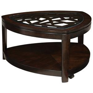 Standard Furniture Crackle Cocktail Table