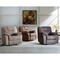 Standard Furniture Crosby Rocker Recliner with Pillow Arms
