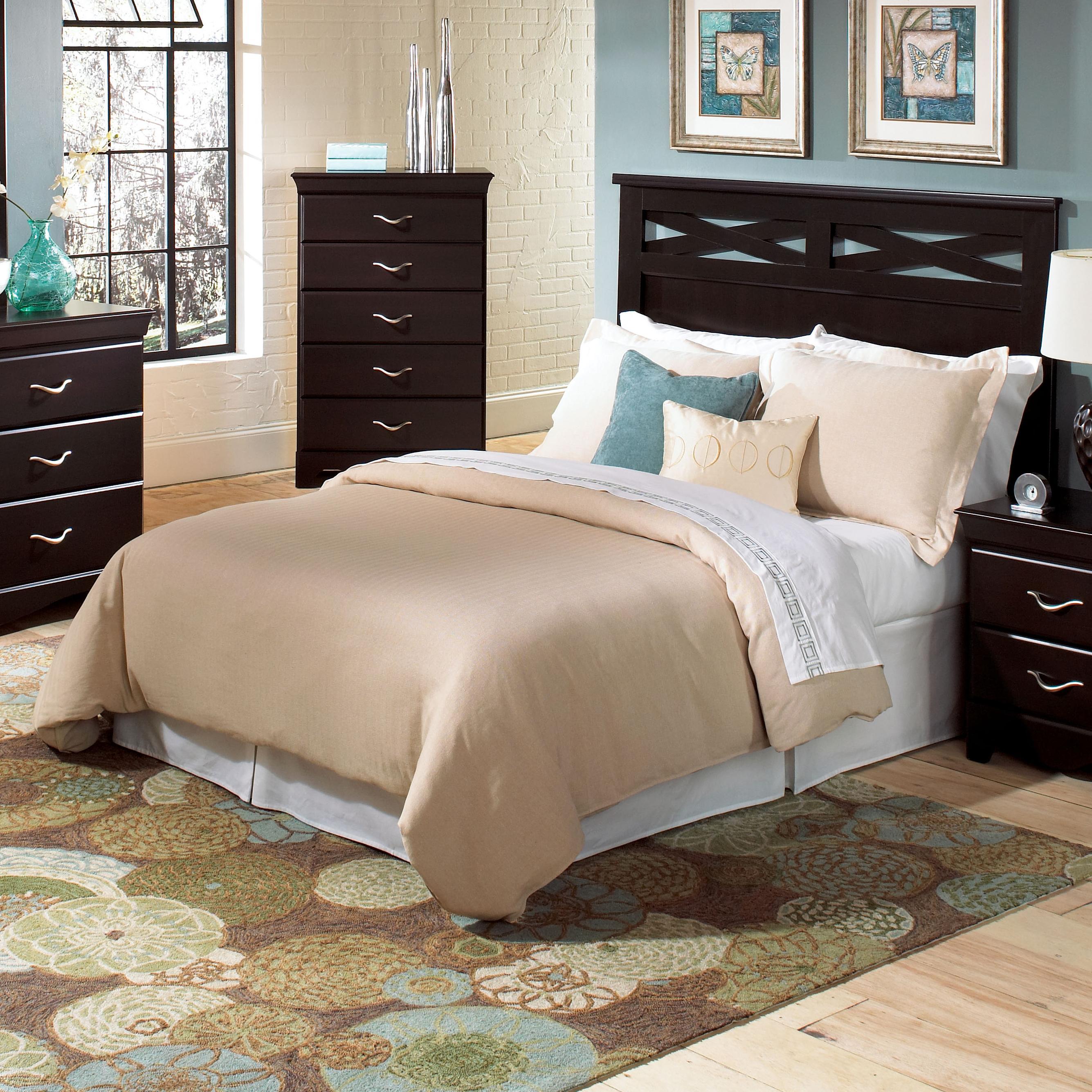 Standard Furniture Crossroads  Full/Queen Panel Headboard  - Item Number: 57651