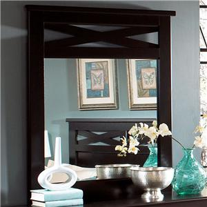 Standard Furniture Crossroads  Panel Mirror