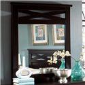 Standard Furniture Crossroads  Panel Mirror - Item Number: 57668