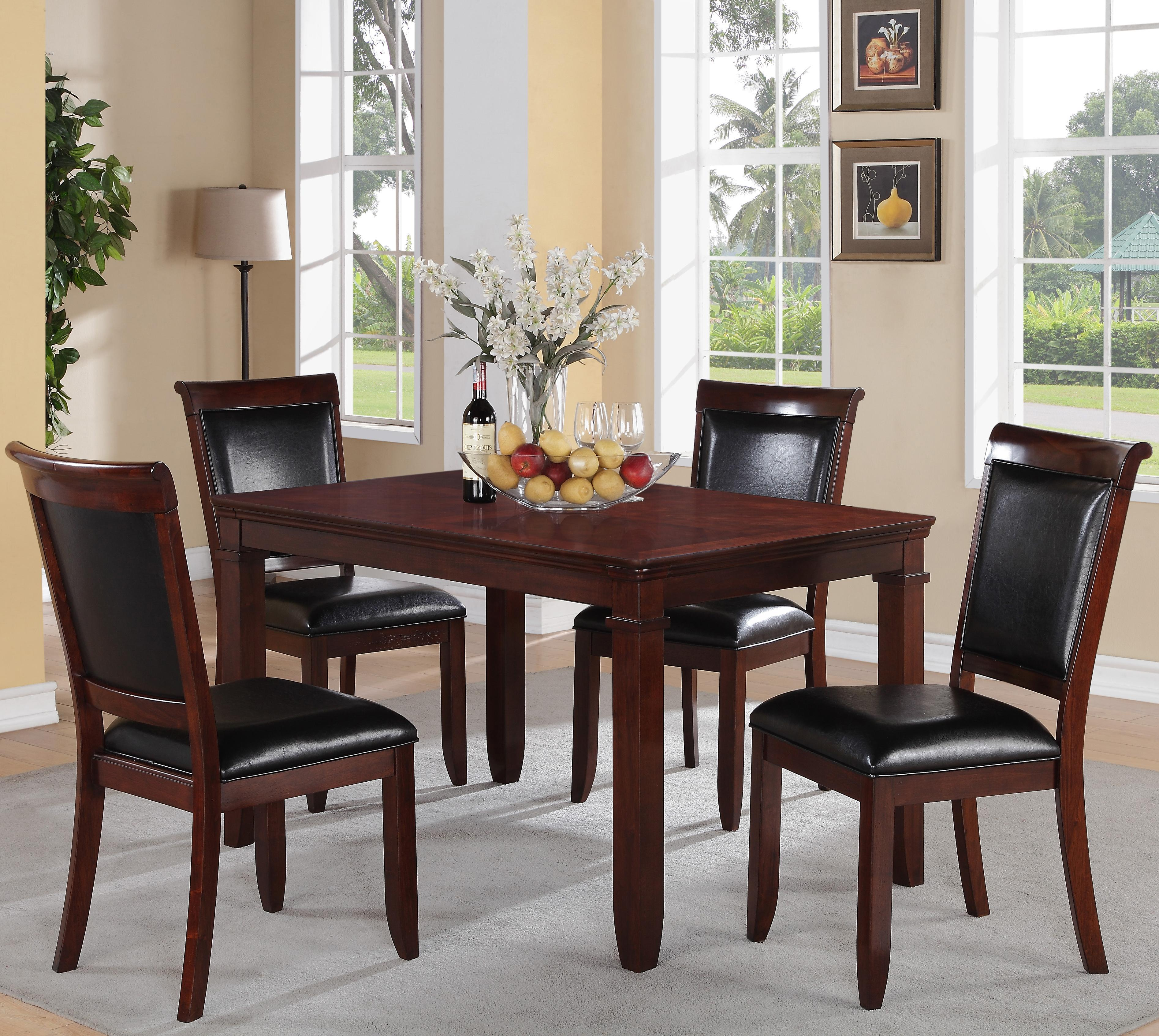 Standard Furniture Dallas  5 Piece Dining Set - Item Number: 12202