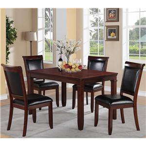 Standard Furniture Dallas  5 Piece Dining Set