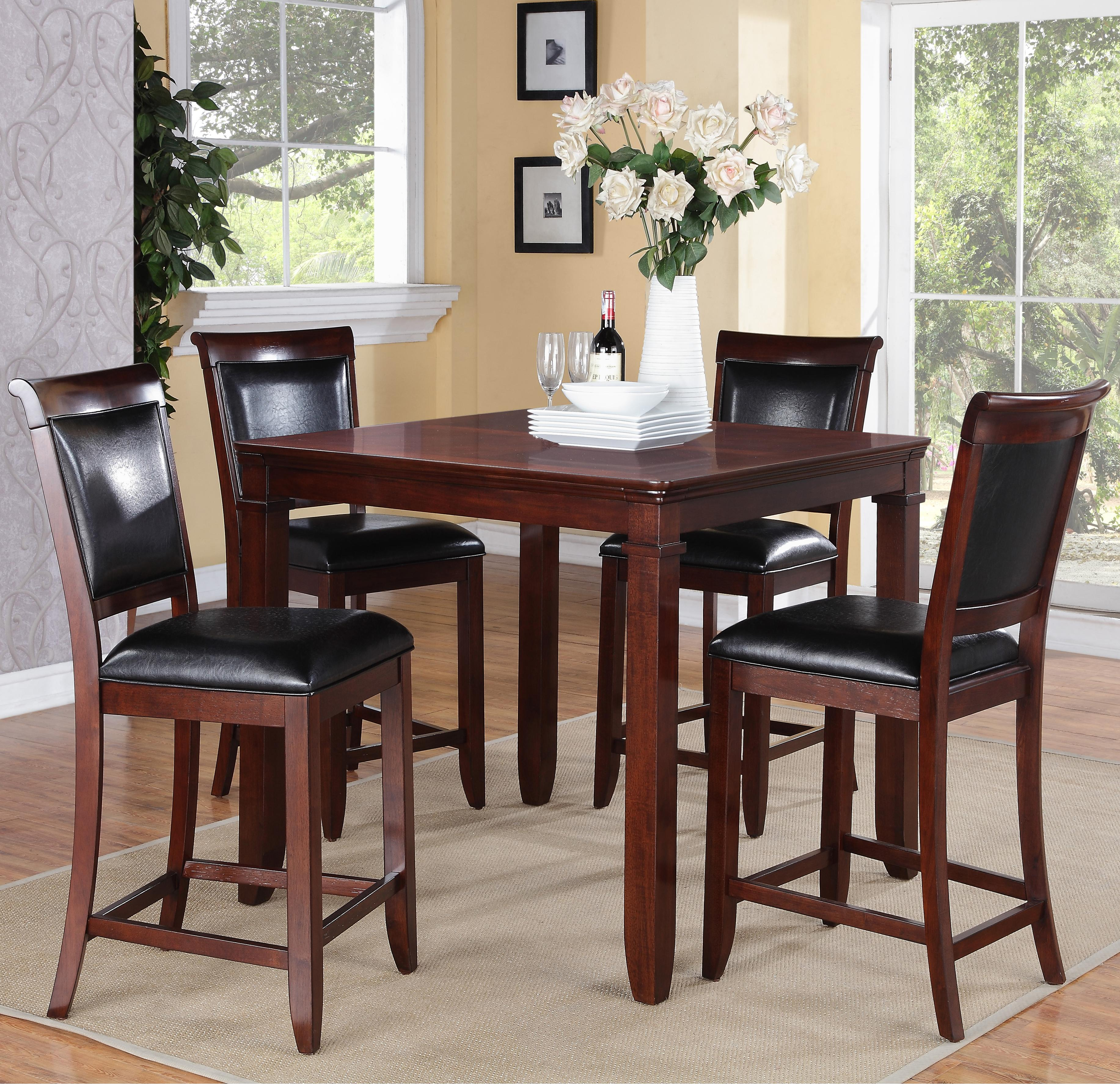 Standard Furniture Dallas  5 Piece Counter Height Table Set - Item Number: 12212
