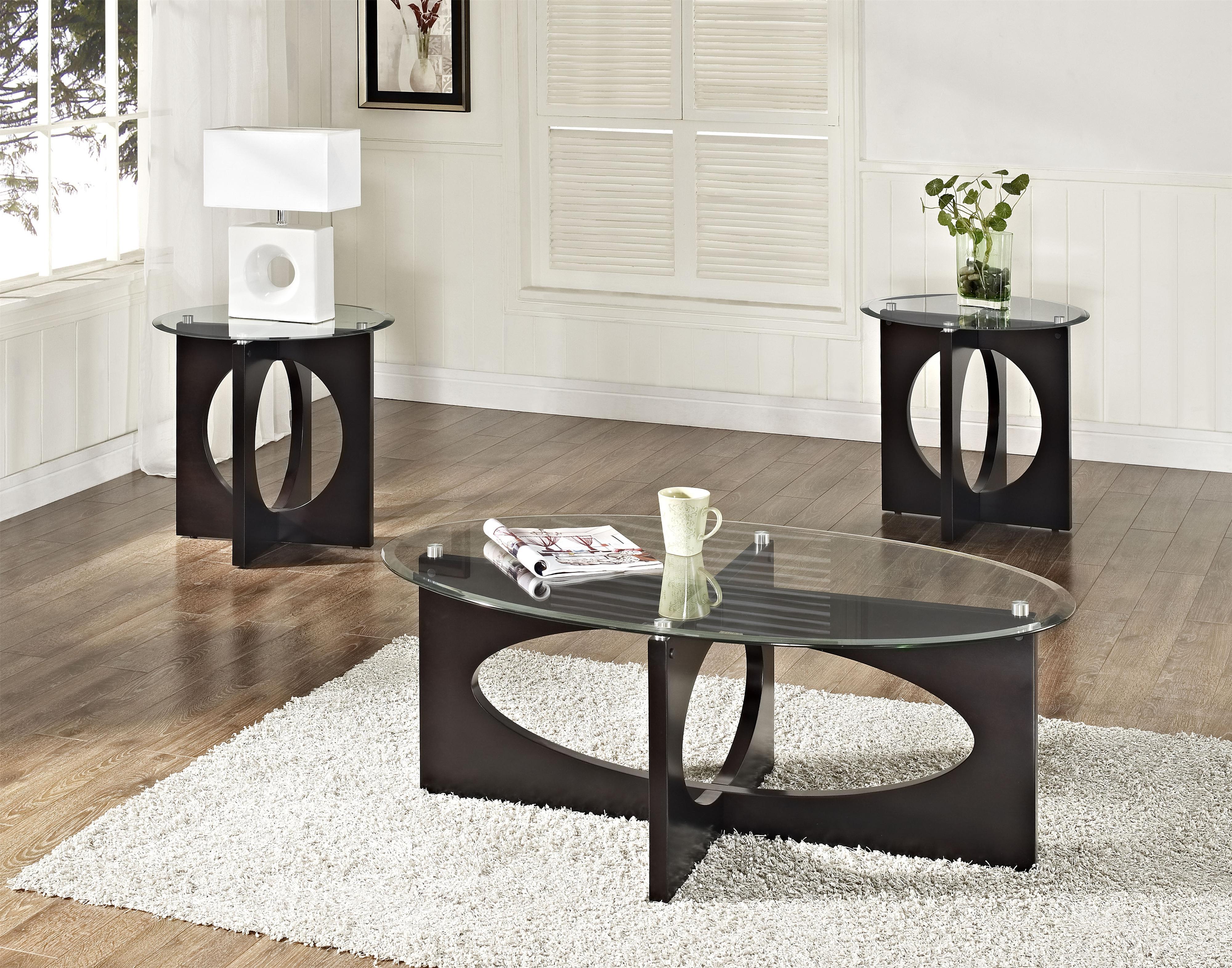 Standard Furniture Dania Occasional Table Set - Item Number: 28153