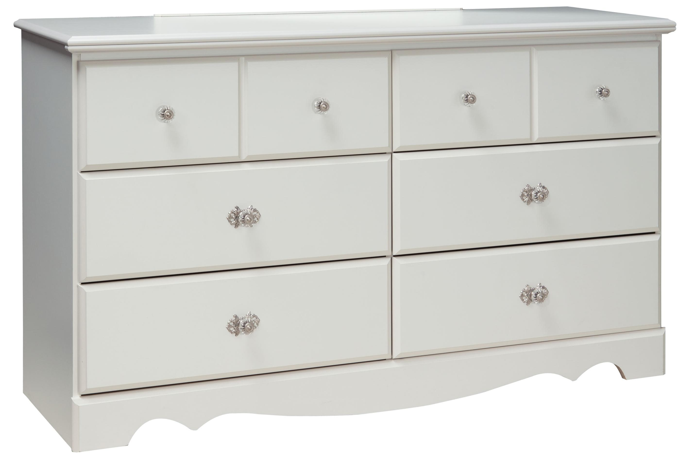 Standard Furniture Daphne Drawer Dresser - Item Number: 65559