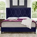 Standard Furniture Delano King Upholstered Bed - Item Number: 98761+98763+98752