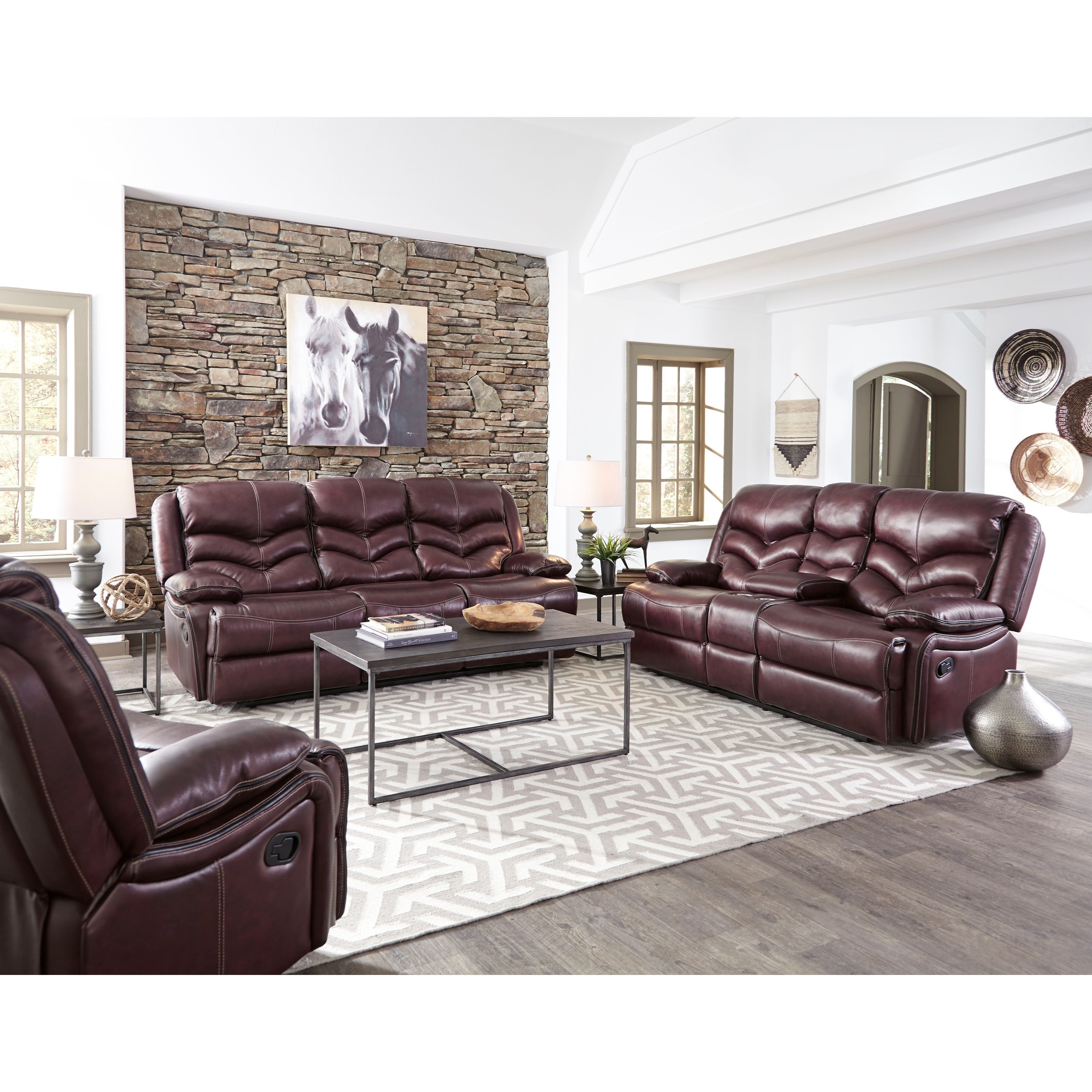 Standard Furniture Denali Power Reclining Sofa With