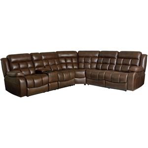 Standard Furniture Destination 4 Seat Power Reclining Sectional Sofa