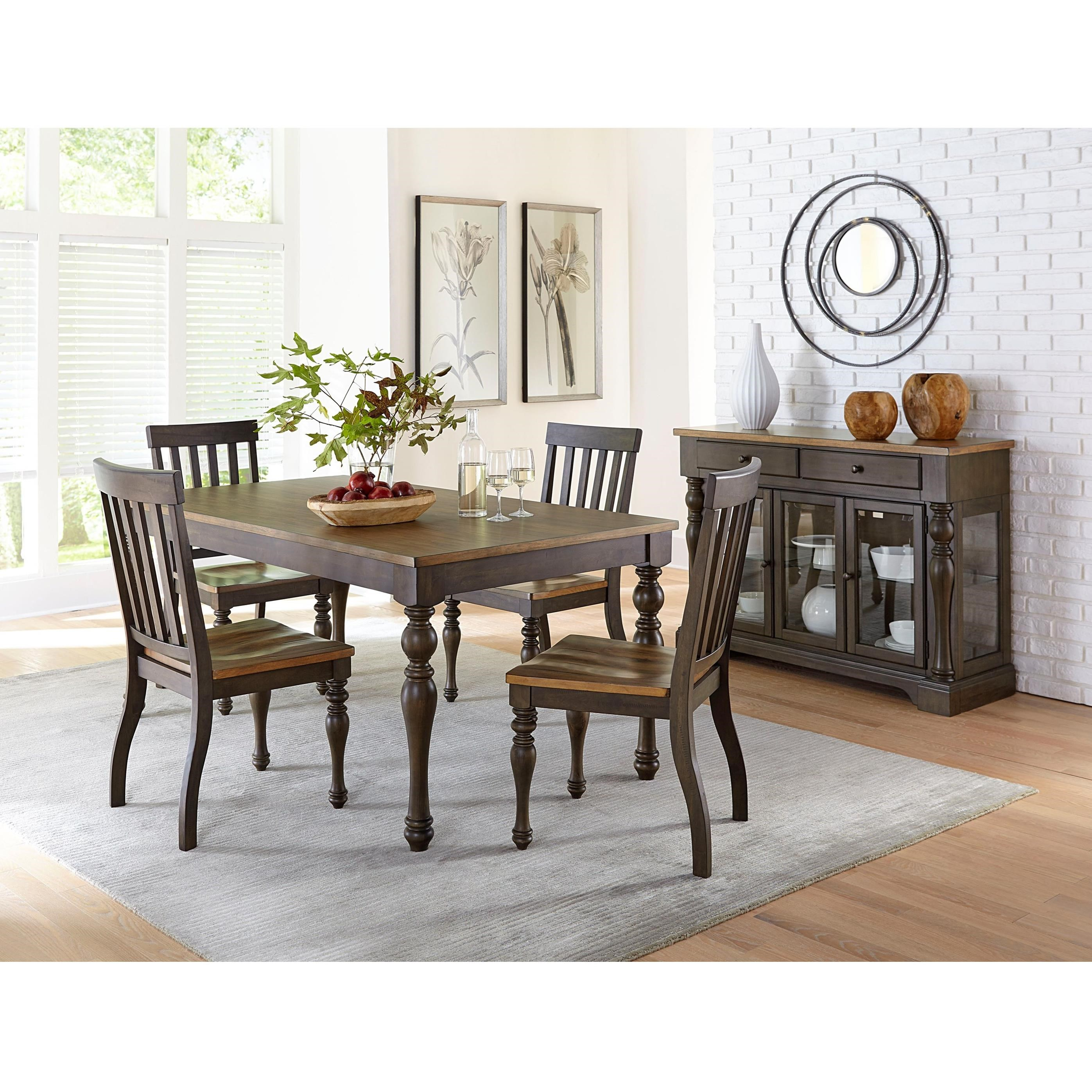 Informal Dining Room: Standard Furniture Dunmore Casual Dining Room Group