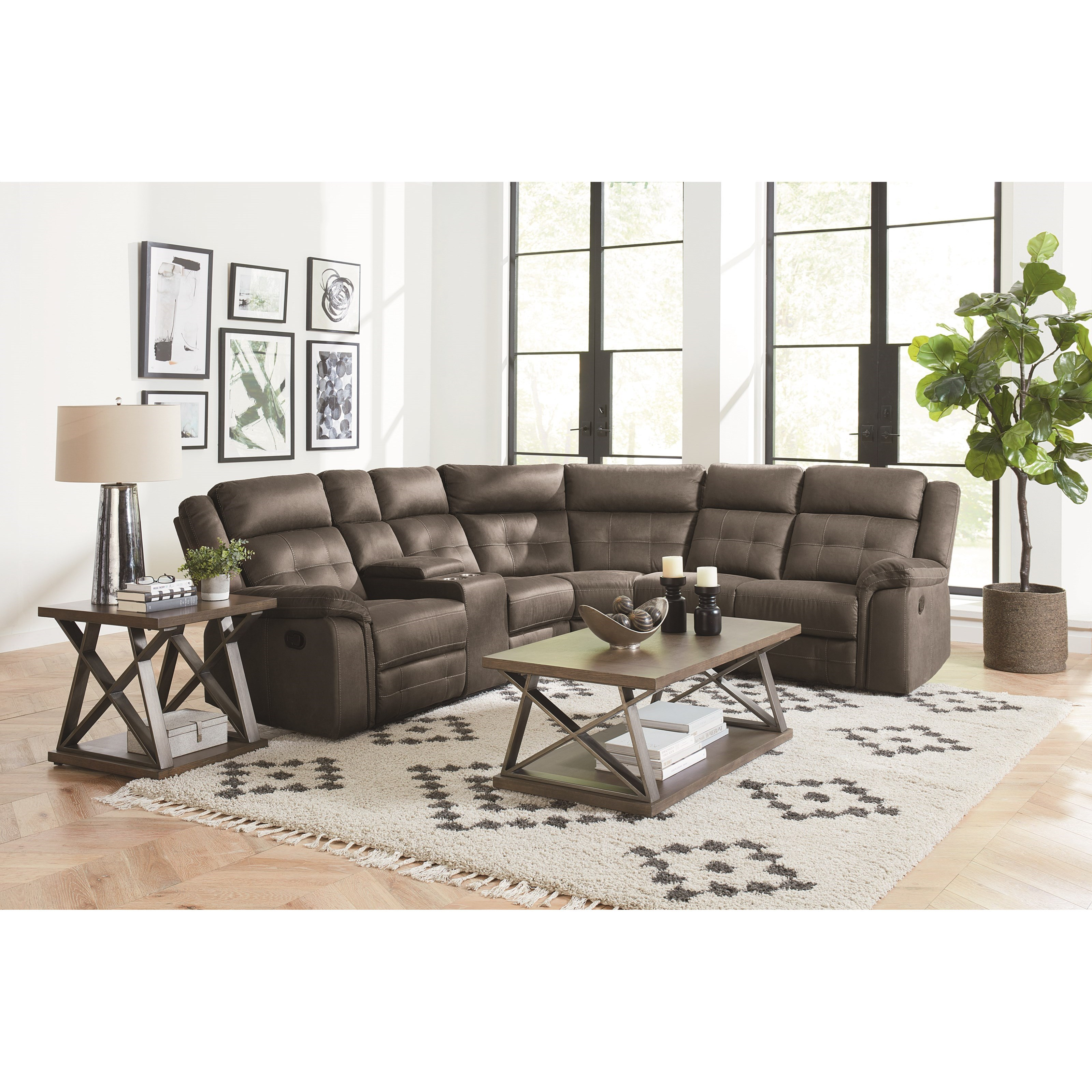 Excellent El Paso Manual Reclining Sectional Sofa Pdpeps Interior Chair Design Pdpepsorg