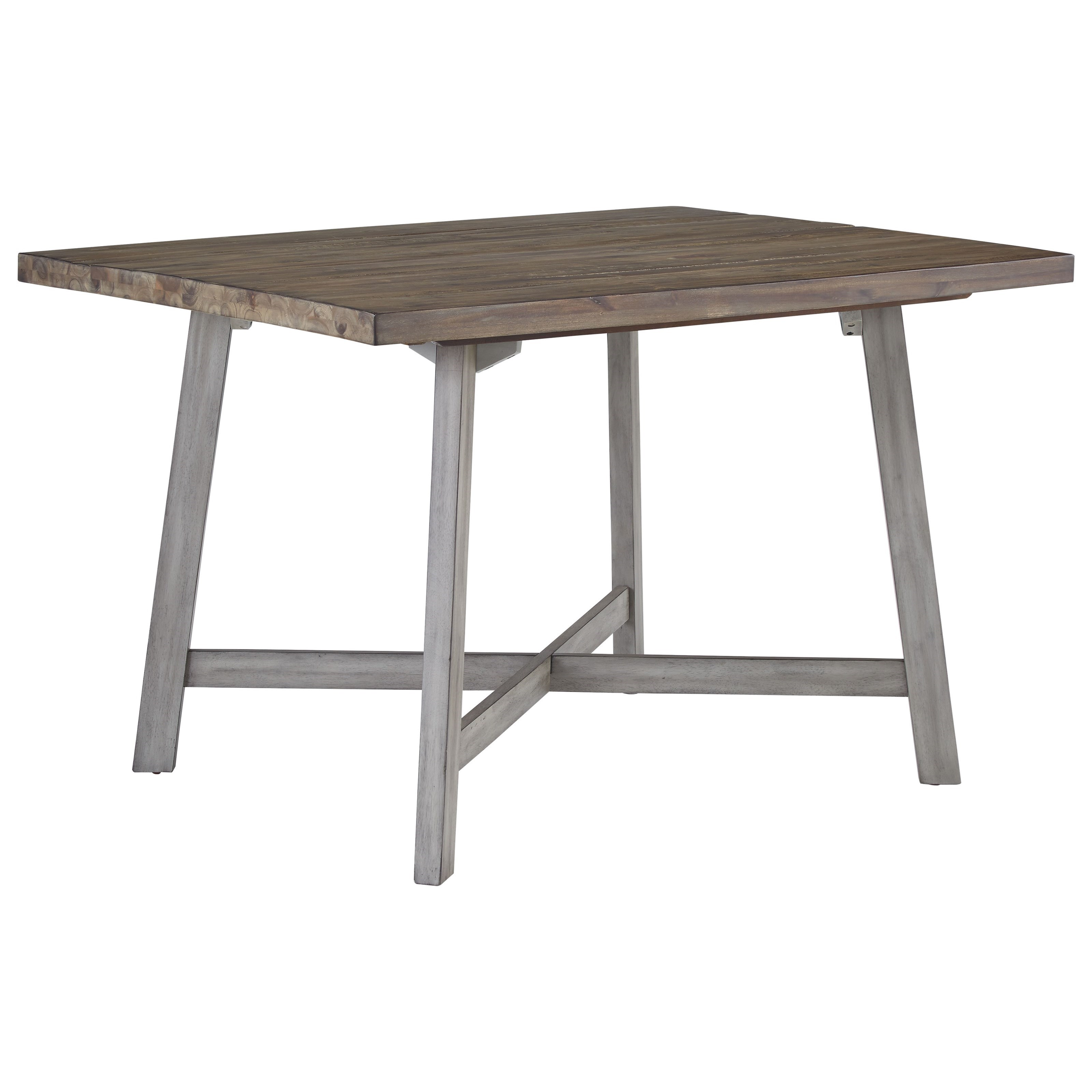 Standard Furniture Fairhaven Rustic Two Tone Table And