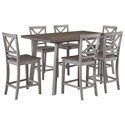 Standard Furniture Fairhaven Table and Chair - Item Number: 12872+2x12874