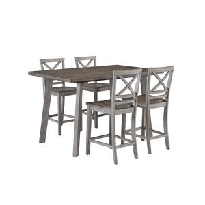 Standard Furniture Fairhaven Counter Table & Chair Set