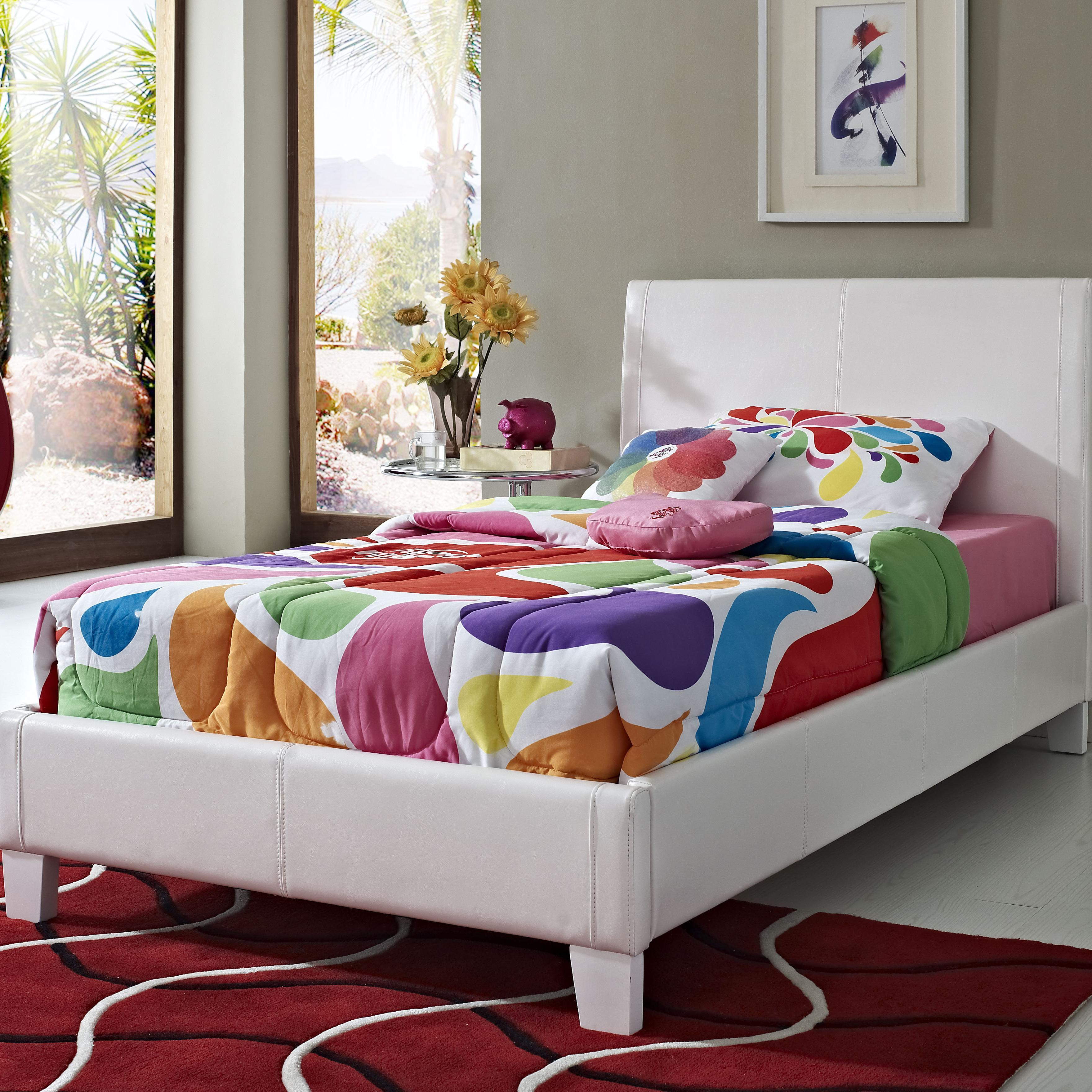 Standard Furniture Fantasia Twin Upholstered Bed - Item Number: 60756+76
