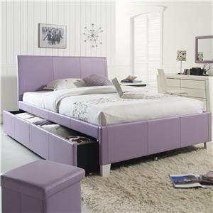 Standard Furniture Fantasia Twin Upholstered Trundle Bed