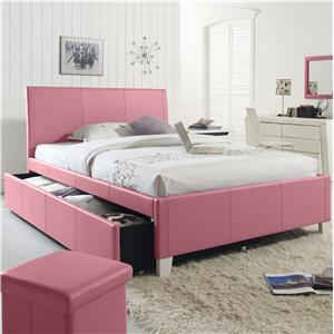 Standard Furniture Fantasia Full Upholstered Trundle Bed