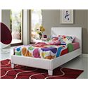 Standard Furniture Fantasia Full Upholstered Youth Bed - Shown in Room Setting